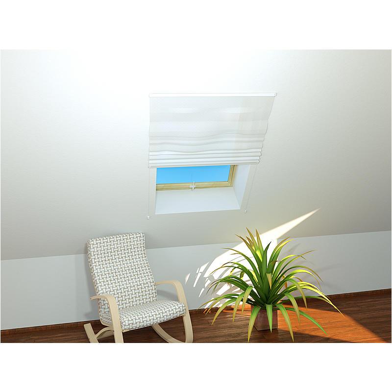 CULEX Dachfenster-Insektenschutz Basic 110 x 160 cm weiß