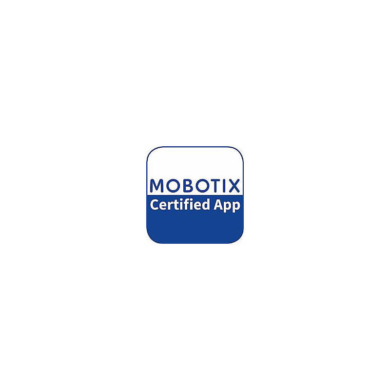 Mobotix AI-Lost Certified App Mx-APP-AI-LOS