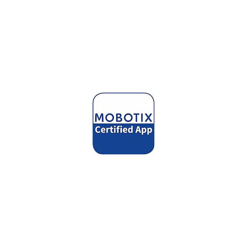 Mobotix AI-Smoke Certified App Mx-APP-AI-SMO