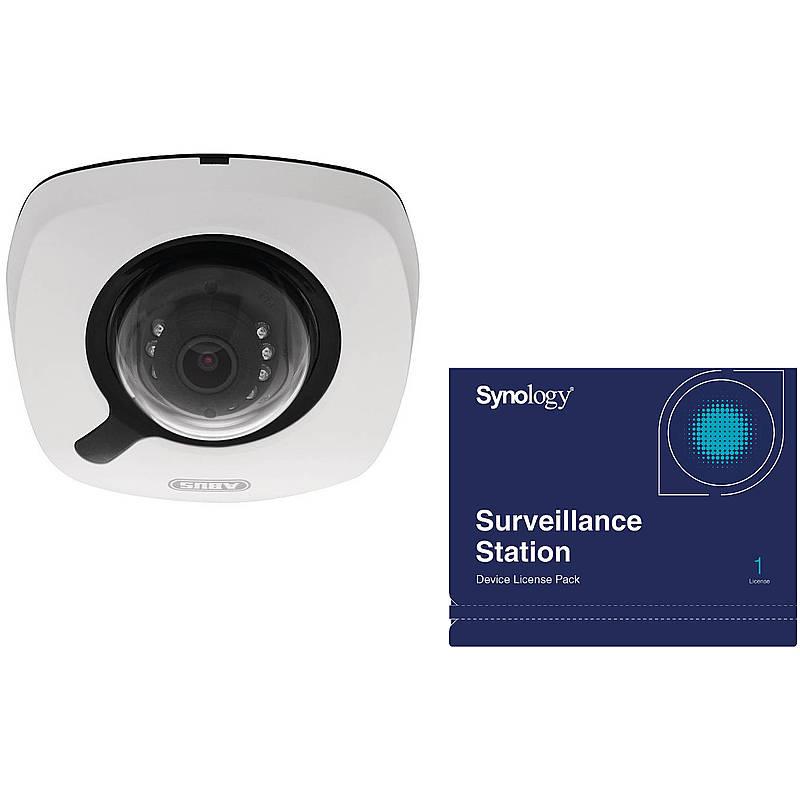 ABUS IP-Kamera IPCB42510A 1080p + Synology Lizenz