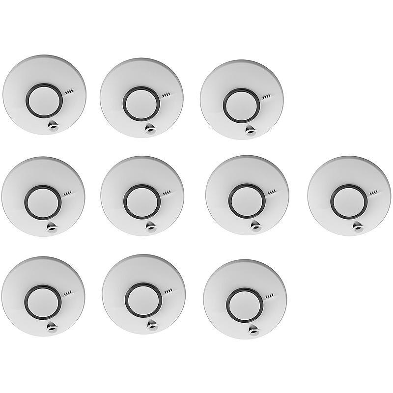 fireangel st 622 de p line rauchmelder 10er set expert. Black Bedroom Furniture Sets. Home Design Ideas