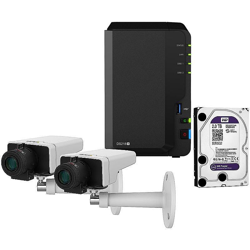 Synology IP-Kamera Set M1125 + DS218+