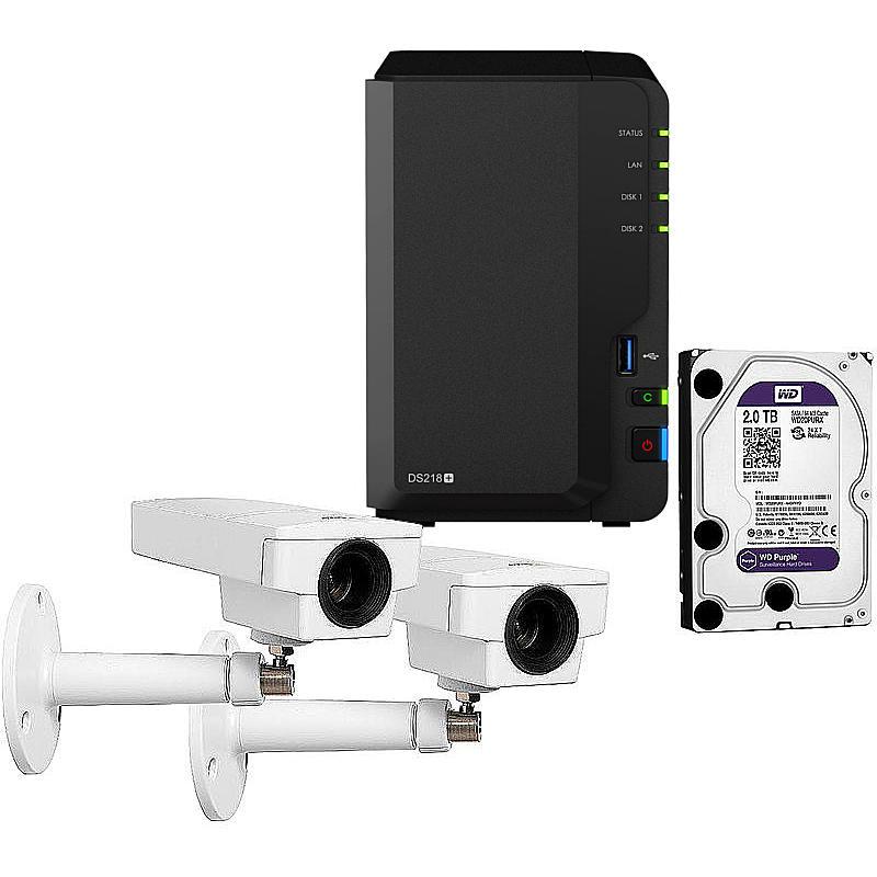 Synology IP-Kamera Set M1145 + DS218+