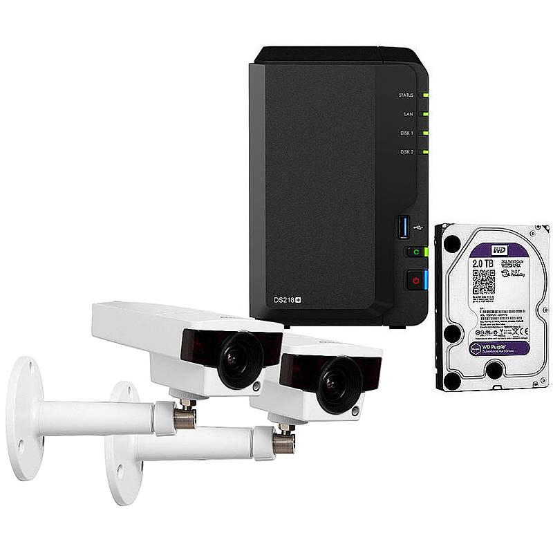 Synology IP-Kamera Set M1145-L + DS218+