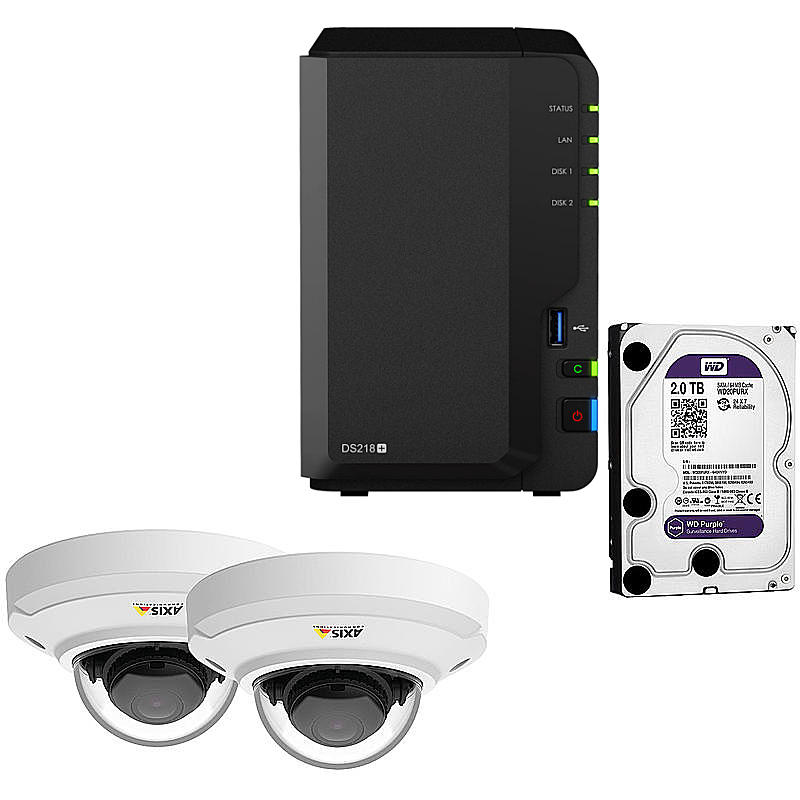Synology IP-Kamera Set M3044-V + DS218+