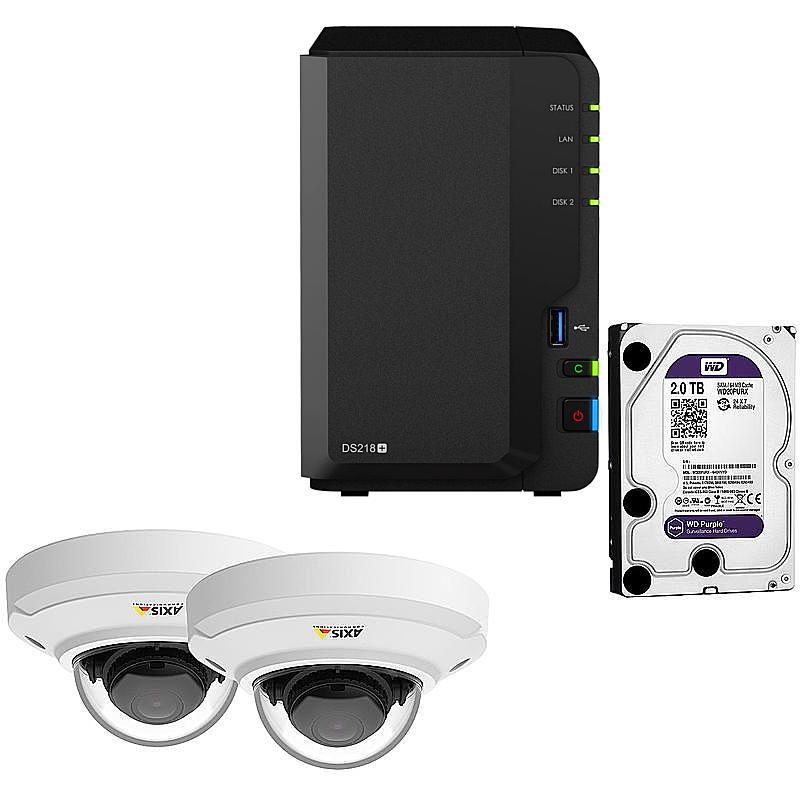 Synology IP-Kamera Set M3046-V + DS218+