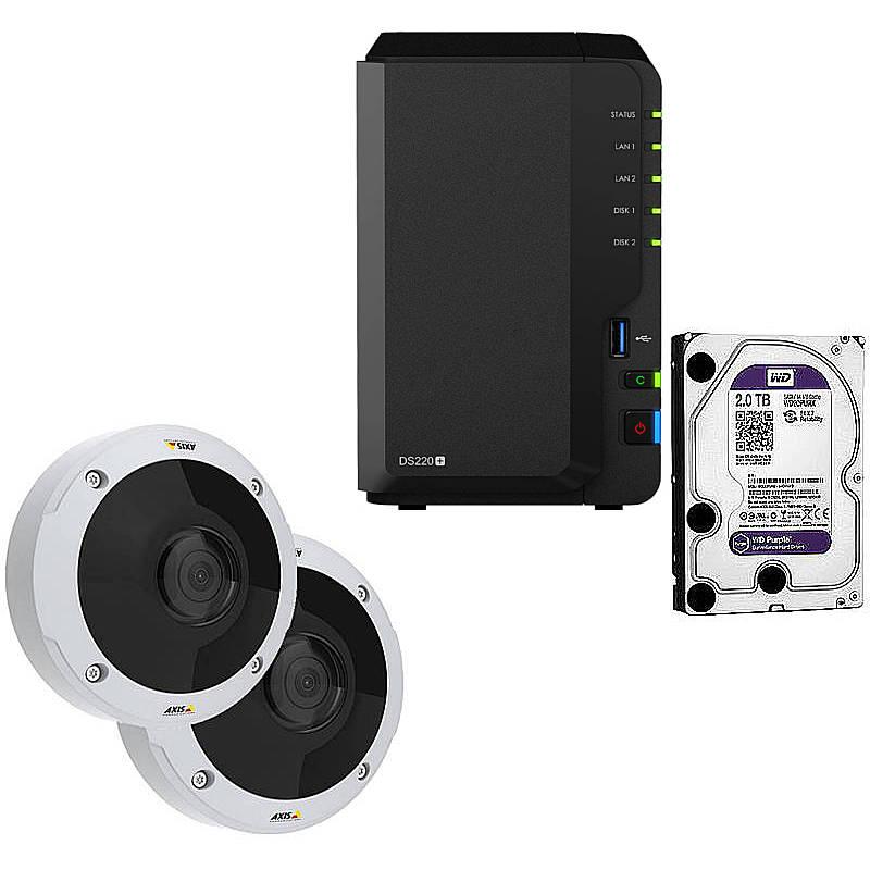 Synology IP-Kamera Set M3057-PLVE + DS218+