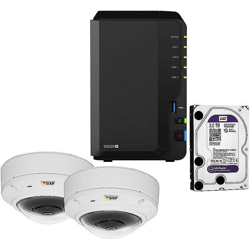 Synology IP-Kamera Set M3037-PVE + DS218+