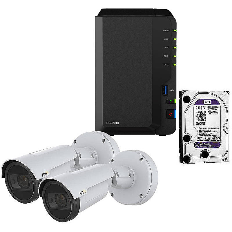 Synology IP-Kamera Set P1447-LE + DS218+