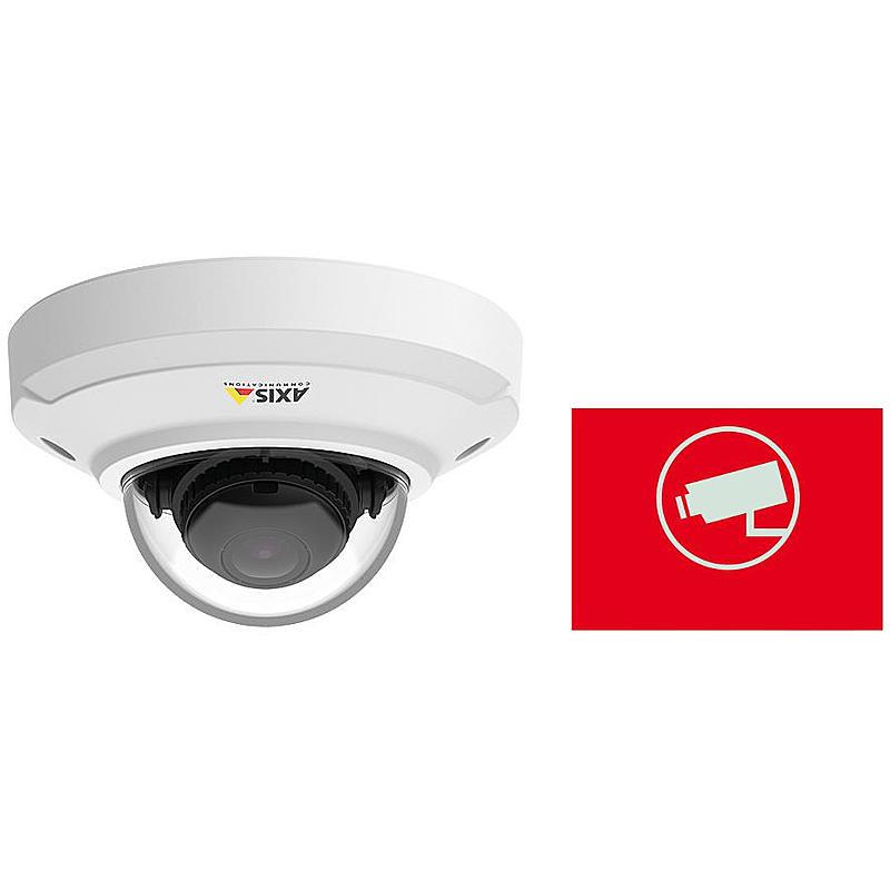 IP-Kamera Set M3044-V + Aufkleber