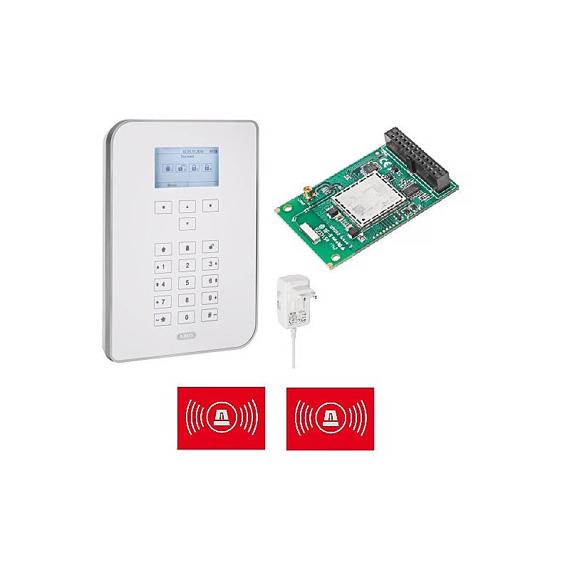 Abus Secvest Touch Alarmzentrale + GSM/LTE-Modul