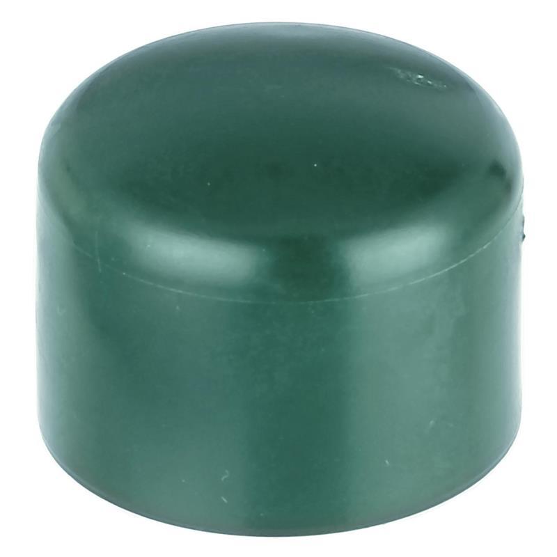 GAH Pfostenkappe rund, grün, f. Pfosten Ø38 mm
