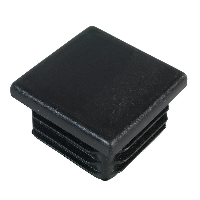 Pfostenkappe Zaunpfosten 80 x 80 mm, schwarz