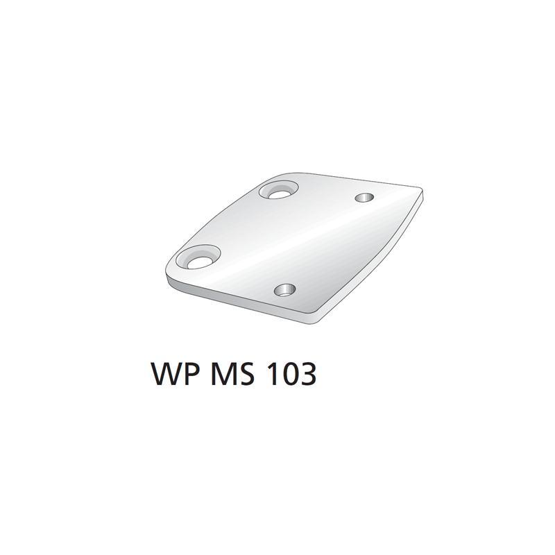 WPMS103 Platte Bauteil für winProtec