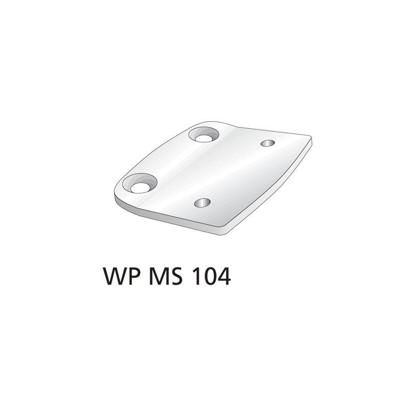 WPMS104 Platte Bauteil für winProtec