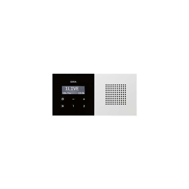 gira up radio rds sw rws system 55 expert. Black Bedroom Furniture Sets. Home Design Ideas