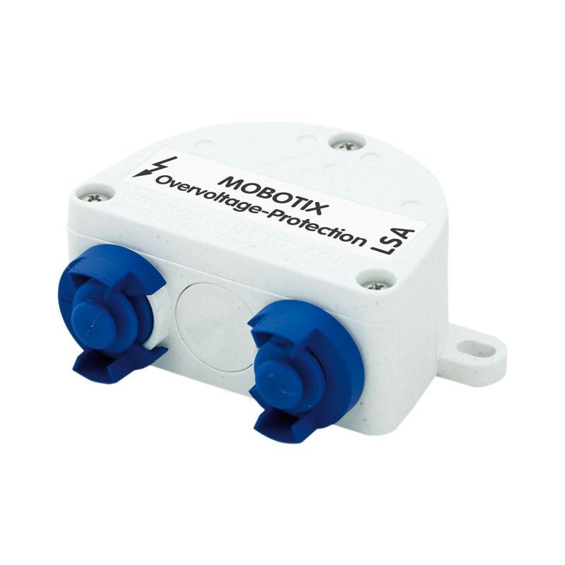 Mobotix Netzwerkverbinder mit Überspannungschutz Overvoltage-Box-LSA