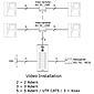 Fermax VDS Video-Türsprechanlage 1WE, 4961