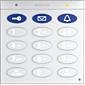 Mobotix Keypad mit RFID-Technik, weiß
