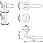 Verona M151/42KV/42KVS Türgriffgarnitur BB F98-R