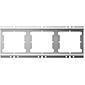 Gira Installationsprofil 3fach für Türsprechanlage