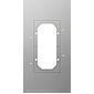 Gira Montageplatte für Türstation 2fach, 129700