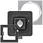 Gira Schalter-Dichtungsset IP44 Edelstahl 21