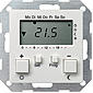 Gira RT-Regler 230 V mit Uhr rws-gl System 55
