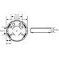 Esylux AP-Dose IP 54 MD-/PD-Deckenbewegungsmelder