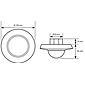 Esylux Decken-Präsenzmelder PD-C360i/24plus ws
