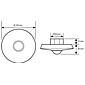 Esylux Decken-Präsenzmelder PD-C360i/8 ws