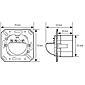 Esylux Wandbewegungsmelder MD180i/R Akustiksensor