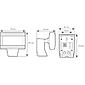 Esylux LED-Strahler 26W 5000K OFR 350 sw