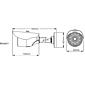 3er Set Eneo VKC-900IR36 Analog Kamera 900TVL Fix