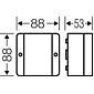 Hensel Kabelabzweigkasten D 9020 -2,5qmm 3ph. 4qmm