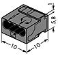 Wago Klemme 243-204 4x0.6-0.8qmm 100 Stück