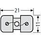 Renz Fadenglühbirne mit Halterung 97-9-85033