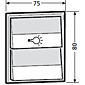Renz Tastenmodul 1 Licht und 1 Klingel 97-9-85274