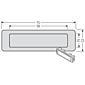 Renz Kombitaster LIRA 75x22 weiß 97-9-85110