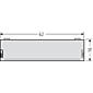 Renz Lichttasterabdeckung mit Einlage 97-9-82254