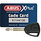 ABUS Bordo Granit X-Plus 6500/85 red Faltschloss