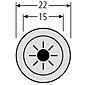 Renz Lichtknopf Grothe Protact LED 97-9-85265