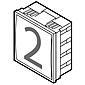 Renz Infomodul 75 x 80 mm, weiß, 97-9-85268