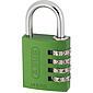 ABUS Aluminium Zahlenschloss 145/40 grün