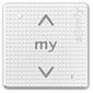 Somfy Funkwandsender 1 IN RTS 1-Kanal Pure Shine