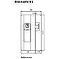 BurgWächter Fenstersicherung Blocksafe B1 BR Z1 GL