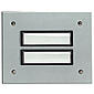 Grothe Etagenplatte ETA 802 EV1 Alu/silber elox.