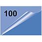 Olympia Laminierfolie Visitenkarte, 100Stk, 125mic