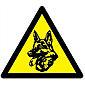 Pentatech WAK-H Aufkleber Wachhund 3er Pack