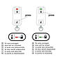 Abus HomeTec Pro CFF3000 Fernbedienung - 2er Set